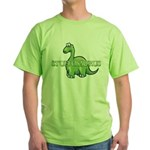 Stuffosaurus Logo Green T-Shirt