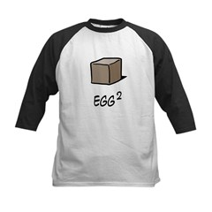 Square Egg Kids Baseball Jersey