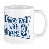 Dives Well With Others Mug