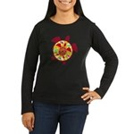 Turtle Within Turtle Women's Long Sleeve Dark T-Sh