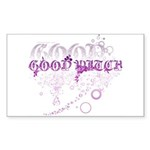 Good Witch Rectangle Sticker 50 pk)