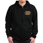 Official Halloween Costume Zip Hoodie (dark)