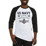 US Navy Brother Defending Baseball Jersey