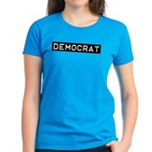 Democrat Label Women's Dark T-Shirt
