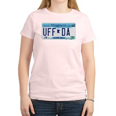 Uffda License Plate Shop Women's Light T-Shirt