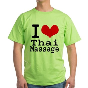 I love Thai massege T-shirt