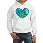 Haiti Heart Hooded Sweatshirt