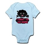 Lost Kawaii Smoke Monster Infant Bodysuit