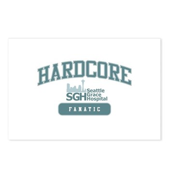 Hardcore Fanatic - Grey's Anatomy Postcards (Package of 8)
