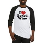I Heart Boxed Wine Baseball Jersey