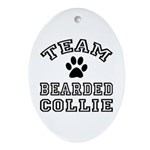 Team Bearded Collie Ornament