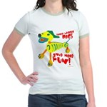 three legged dogs have more fun t-shirts