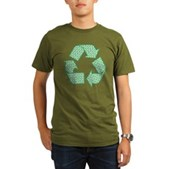 Path to Recycling Organic Men's T-Shirt (dark)