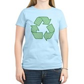 Path to Recycling Women's Light T-Shirt