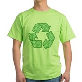 Path to Recycling Green T-Shirt