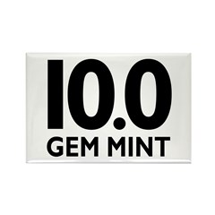 10.0 Gem Mint Rectangle Magnet