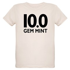 10.0 Gem Mint Organic Kids T-Shirt