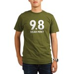 9.8 Near Mint Organic Men's T-Shirt (dark)