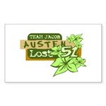 Team Jacob - Austen 51 Sticker (Rectangle)