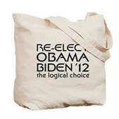 Logical Obama 2012 Tote Bag
