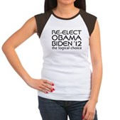 Logical Obama 2012 Women's Cap Sleeve T-Shirt
