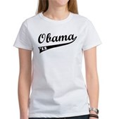 Obama 2012 Swish Women's T-Shirt