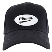 Obama 2012 Swish Black Cap