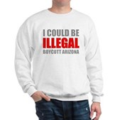 Could Be Illegal - Boycott AZ Sweatshirt
