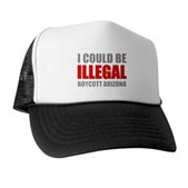 Could Be Illegal - Boycott AZ Trucker Hat