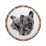 Skye Terrier Christmas Ornament