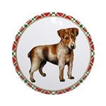 Tan Jack Russell Terrier Ornament