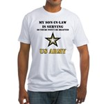 Army - Son-in-law Serving Fitted T-Shirt