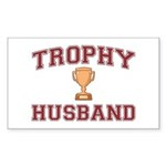 Trophy Husband Sticker (Rectangle)