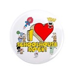 "I Heart Schoolhouse Rock! 3.5"" Button"
