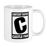 Content Rated C: Castle Fan Mug
