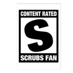Content Rated S: Scrubs Fan Postcards (Package of 8)