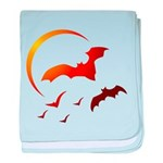 Flying Vampire Bats Infant Blanket