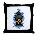 Glowing Lantern Throw Pillow