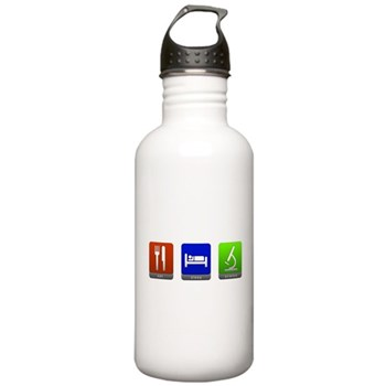 Eat, Sleep, Science Stainless Water Bottle 1.0L