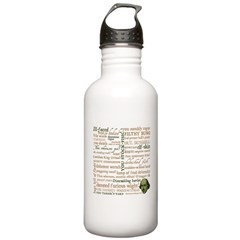 Shakespeare Insults T-shirts & Gifts Stainless Water Bottle 1.0L