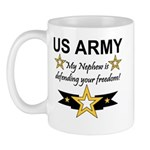 Army My Nephew is defending Mug