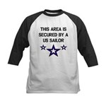 AREA SECURED US SAILOR Kids Baseball Jersey