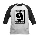 Content Rated 9: 90210 Fan Kids Baseball Jersey