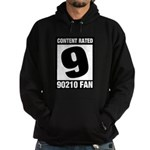Content Rated 9: 90210 Fan Hoodie (dark)