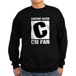 Content Rated C: CSI Fan Sweatshirt (dark)