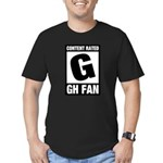 Content Rated G: General Hospital Fan Men's Fitted T-Shirt (dark)