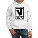 Content Rated V: V Fan Hooded Sweatshirt