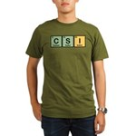 CSI Made of Elements Organic Men's T-Shirt (dark)