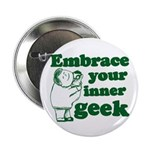 Embrace Your Inner Geek Button