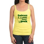 Embrace Your Inner Geek Jr. Spaghetti Tank